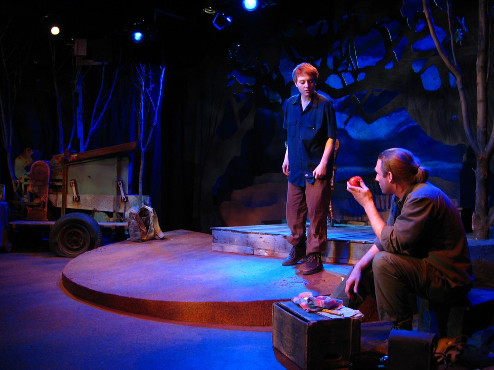 MaryBeth Griffith (Mel) and Travis Horseman (Jonathan),  Age of Bees, MadLab Theatre , directed by Jim Azelvandre