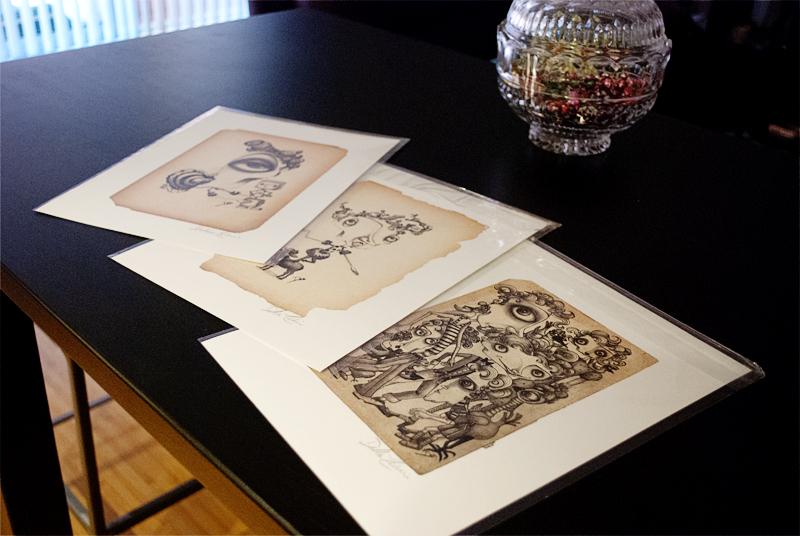 Debbie Lelievre prints