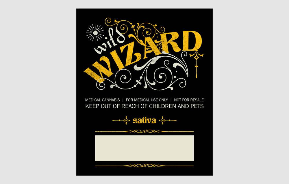 Wild Wizard Sativa Label