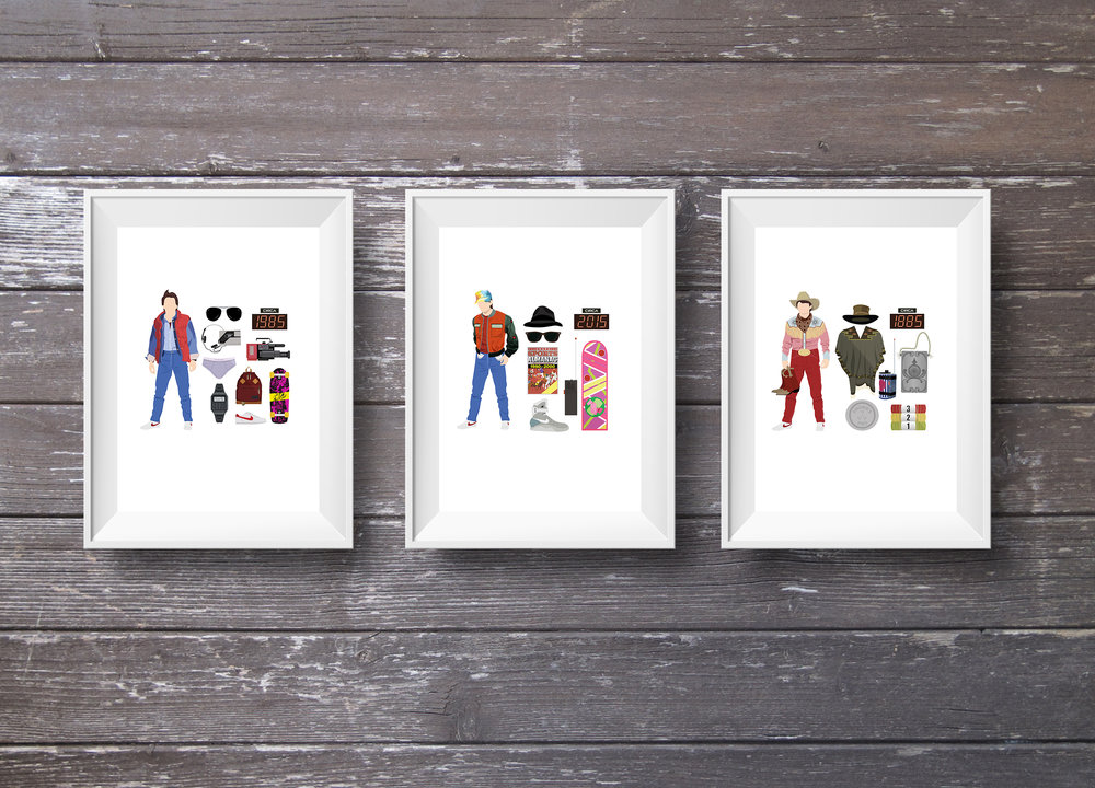 Back to the Future, Framed Trio