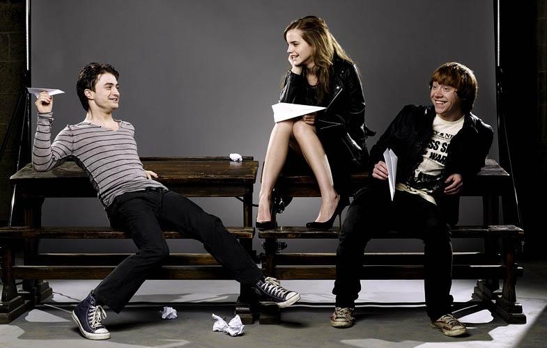 Daniel Radcliffe, Emma Watson, Rupert Grint | Harry Potter Series