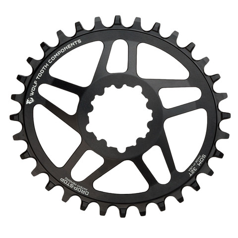 Elliptical chainrings for both SRAM and Shimano cranksets