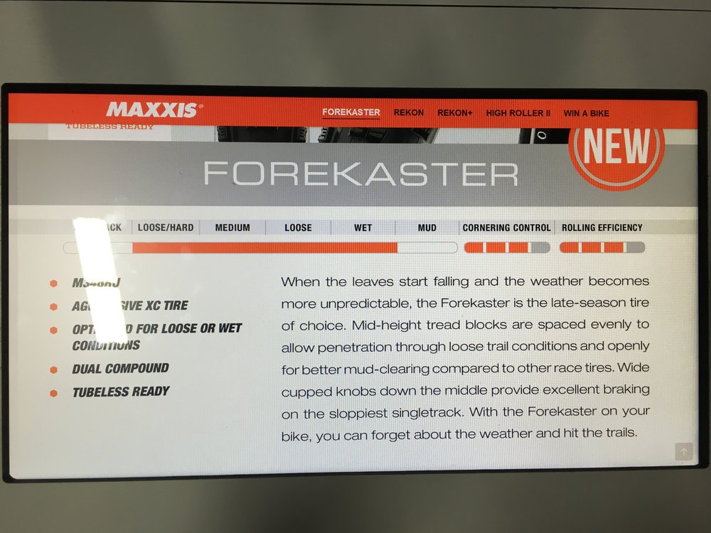 Maxxis Forecaster Overview.JPG