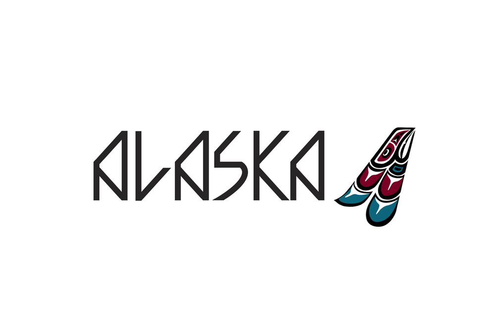 Logo lockup – The typeface is inspired by Inuktitut syllabics