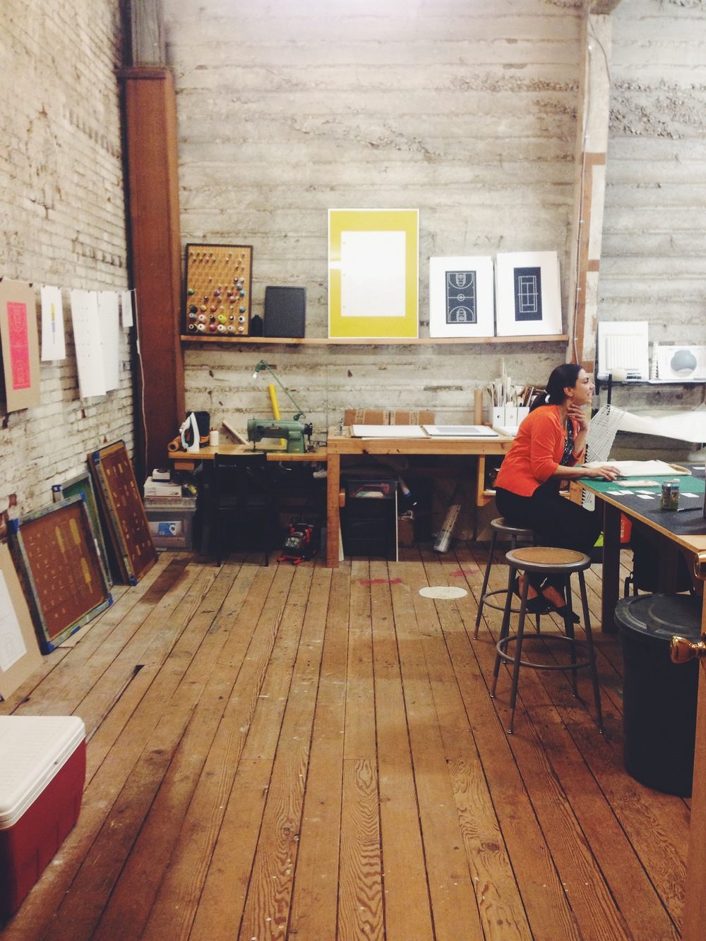 Had a great time at our open studios this weekend. Thanks everyone for coming out! More items to come to the shop soon. Stay tuned!