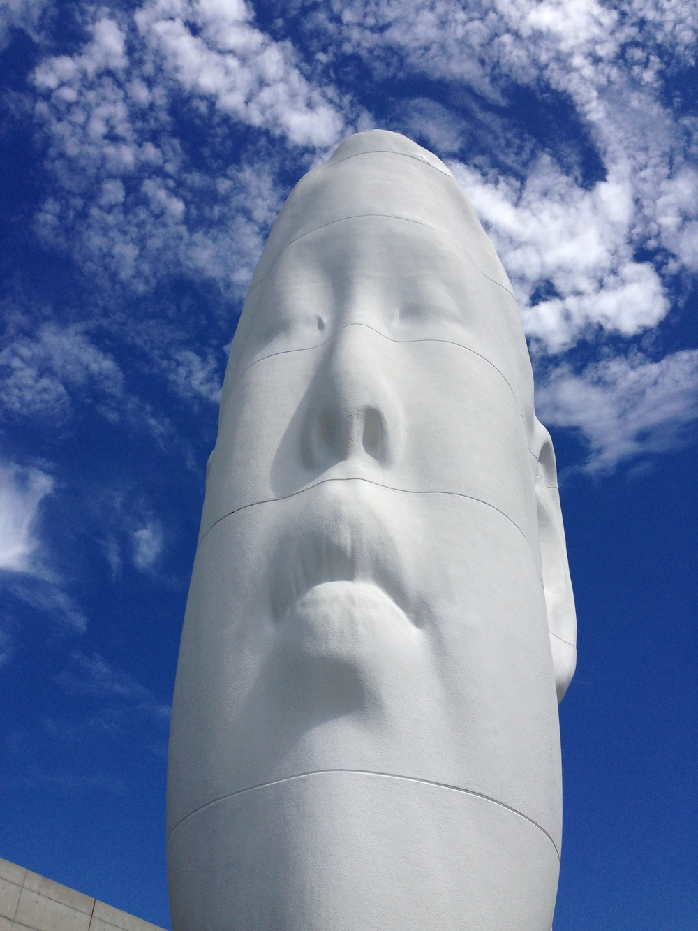 Long Face, Blue Sky. (Seattle Art Museum)