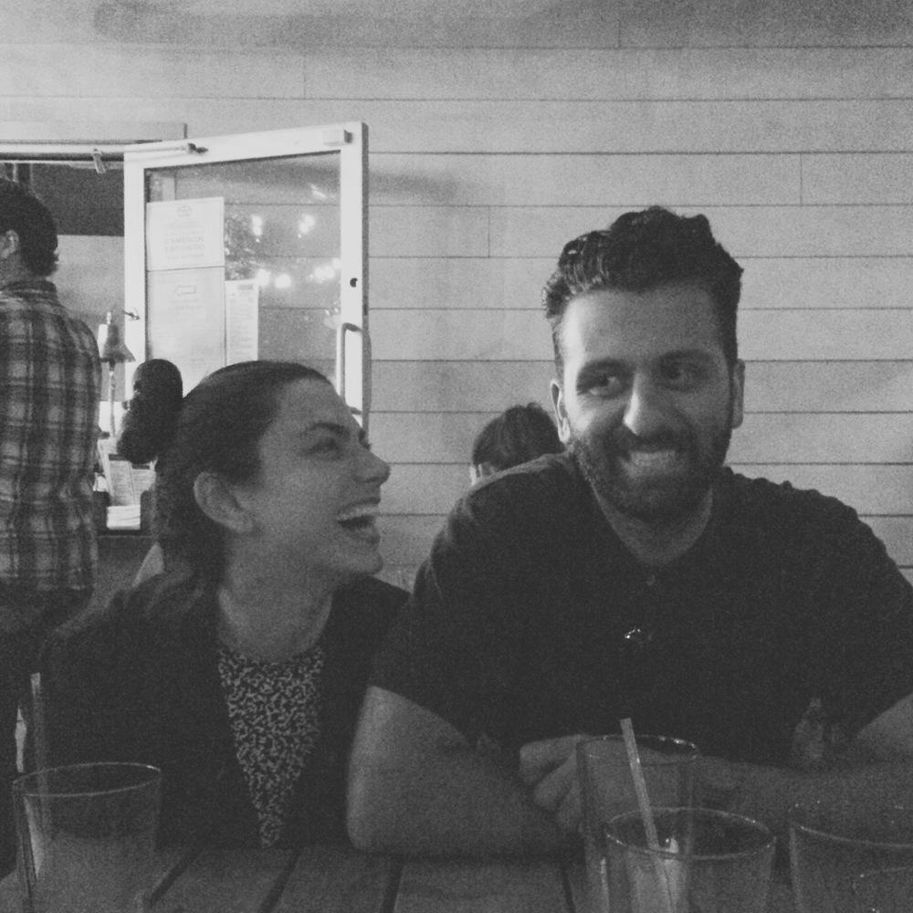 Maria Lalli and Amin Zahiry, Portland, Oregon