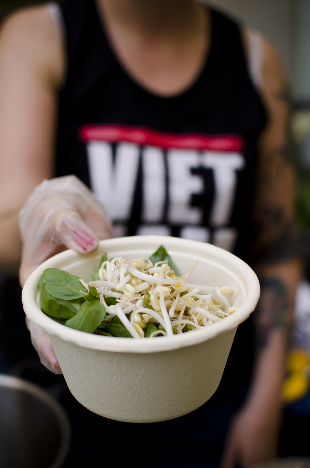 Vietnamese pho served by Hanna.
