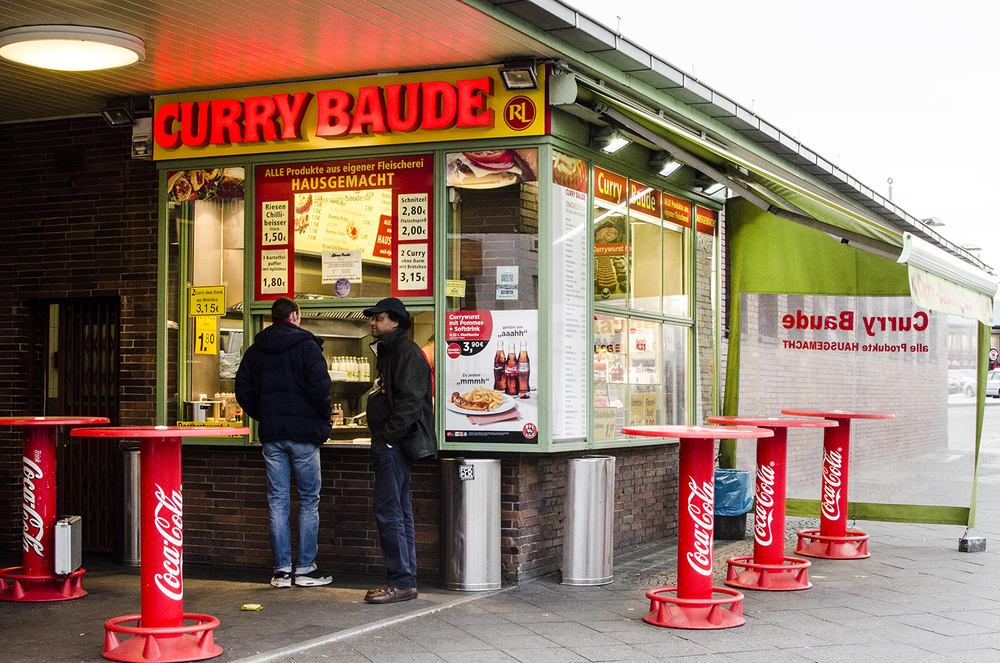 Berlin is full of fast food restaurants.