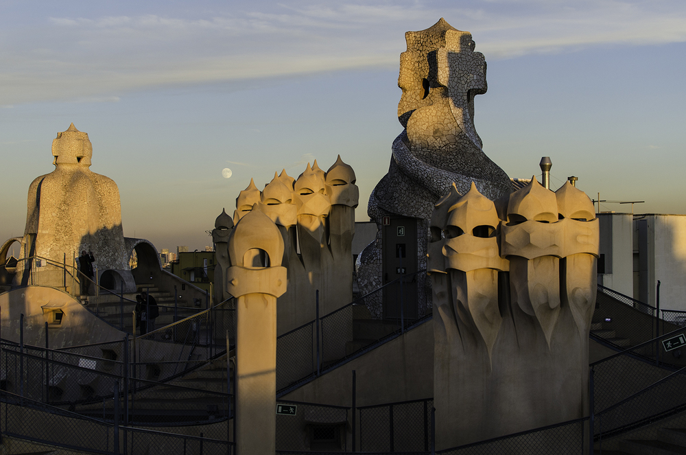Antoni Gaudí's amazing architecture can be found all over Barcelona.