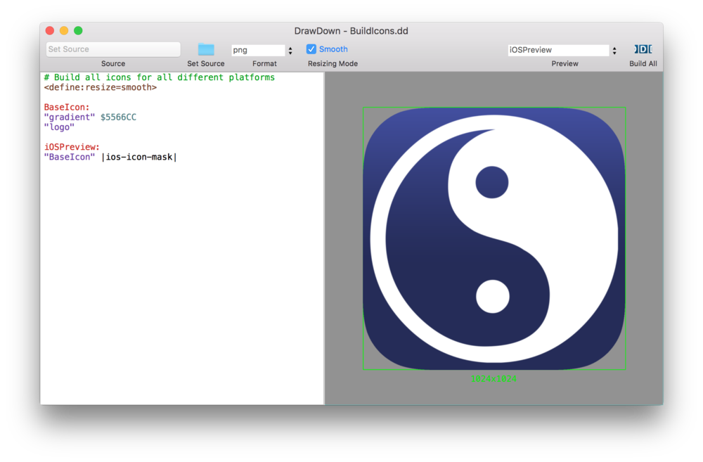 Automatically create all your iOS 9 and OS X Icons — Swift Studies