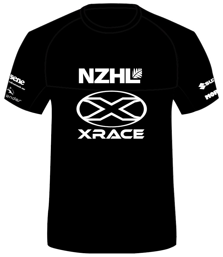 THE NZHL XRACE HALL OF FAME SHIRT
