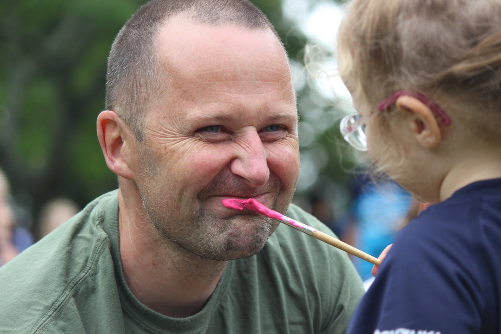 NIPPER - FACE PAINTING - CAMBRIDGE