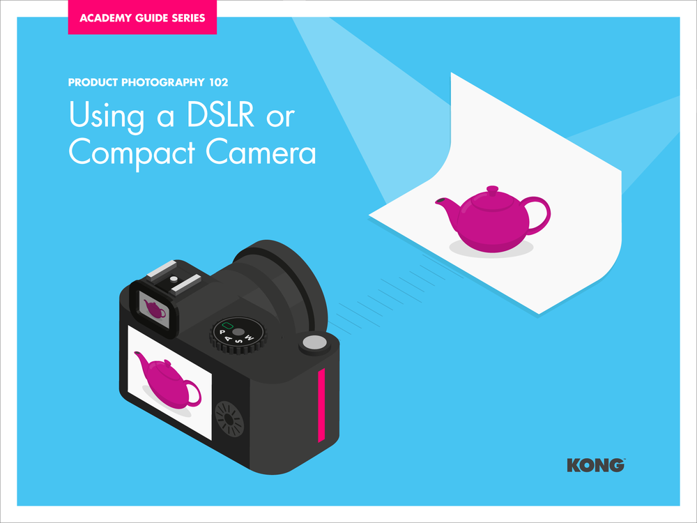 Product Photography 102 - Using a DSLR or Compact Camera Cover