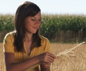 Girl in Yellow Shirt in a Wheat Field .jpeg
