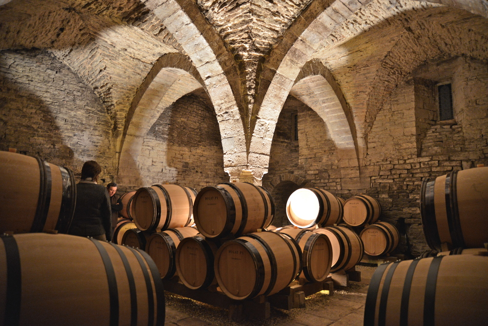 The 9 century cellars of Dugat-Py, Gevrey Chambertin, Burgundy