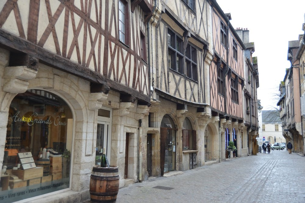 The Old Quarter, Dijon, Burgundy