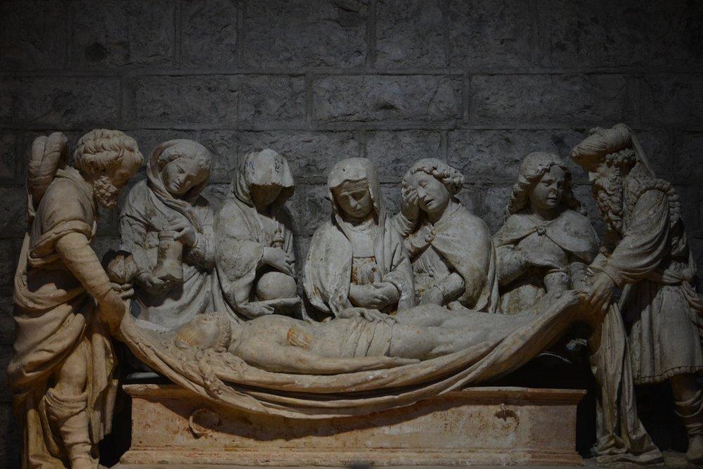 Sculpture from Notre Dame de Talant, Dijon, Burgundy