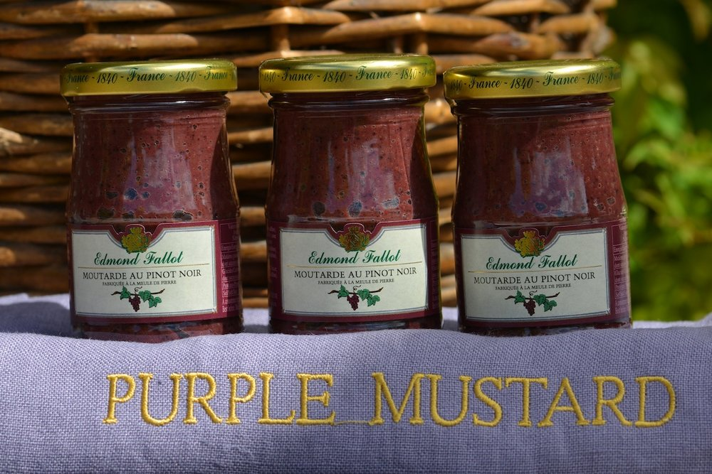Purple Mustard from The Burgundy Shop