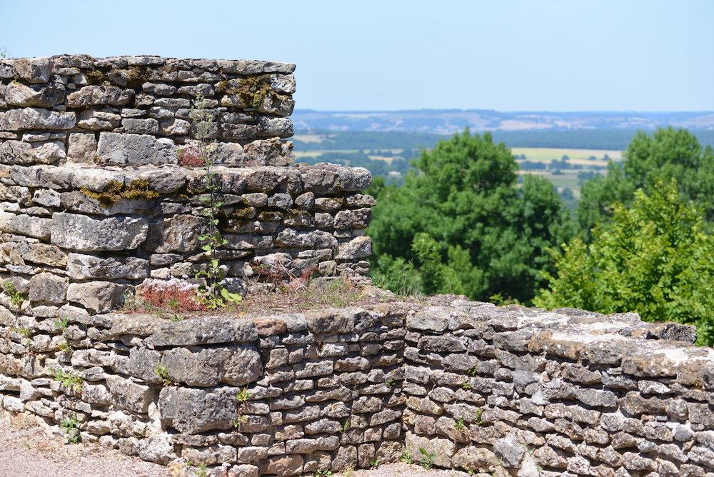 The ancient battlements