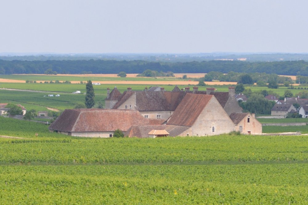 Chateau Vougeot, Burgundy, on 21 June 2017