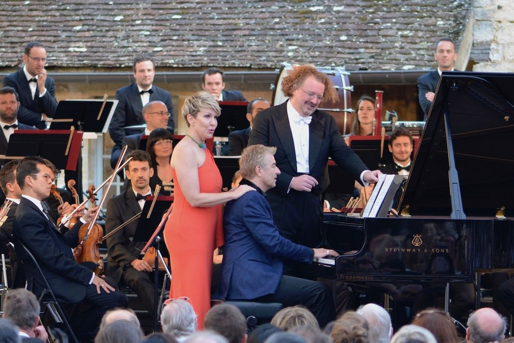 Joyce DiDonato at Vougeot 2017