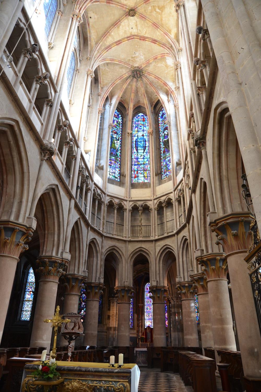 Collegiale Notre Dame de Saumur-en-Auxois, Burgundy
