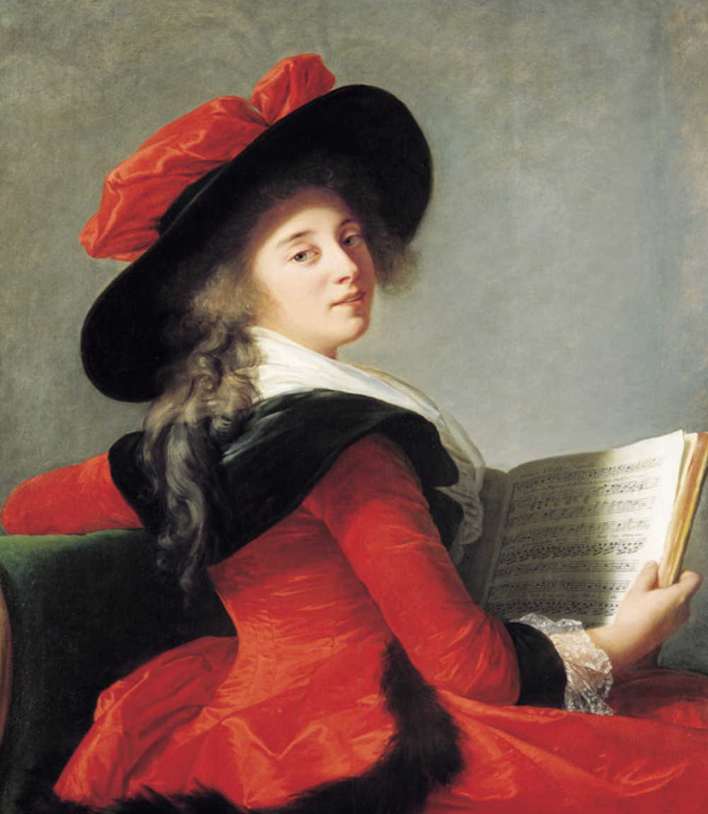 Baronne de Crussol 1785