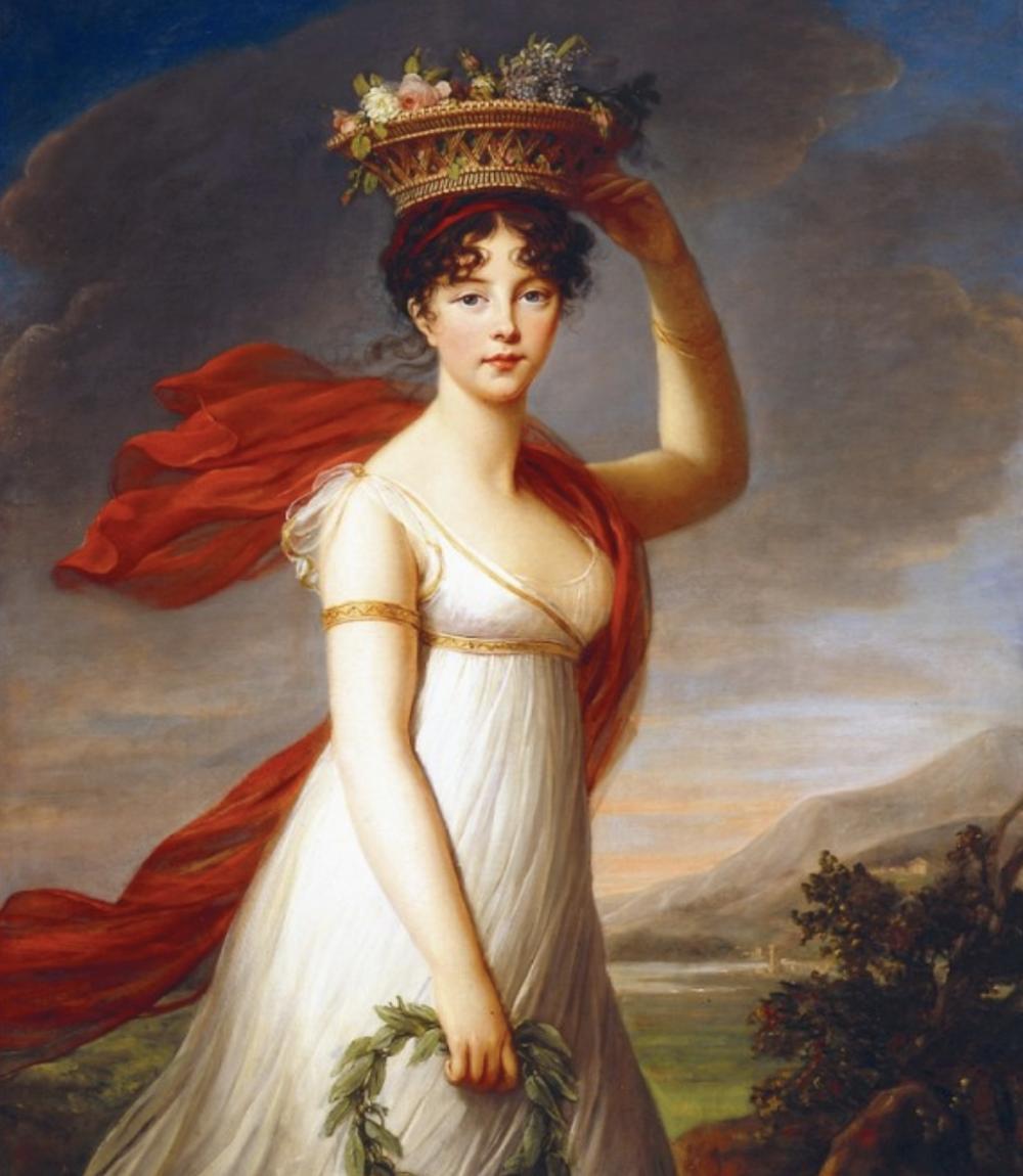 Julie as Flora 1799