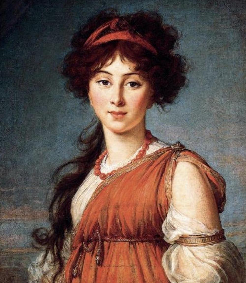 Elizabeth Varvara Ivanova Narishkine 1800