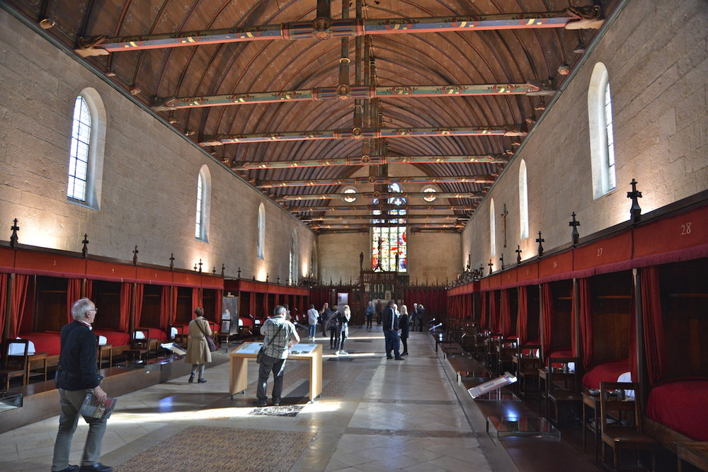 The Main Hall were patients were treated