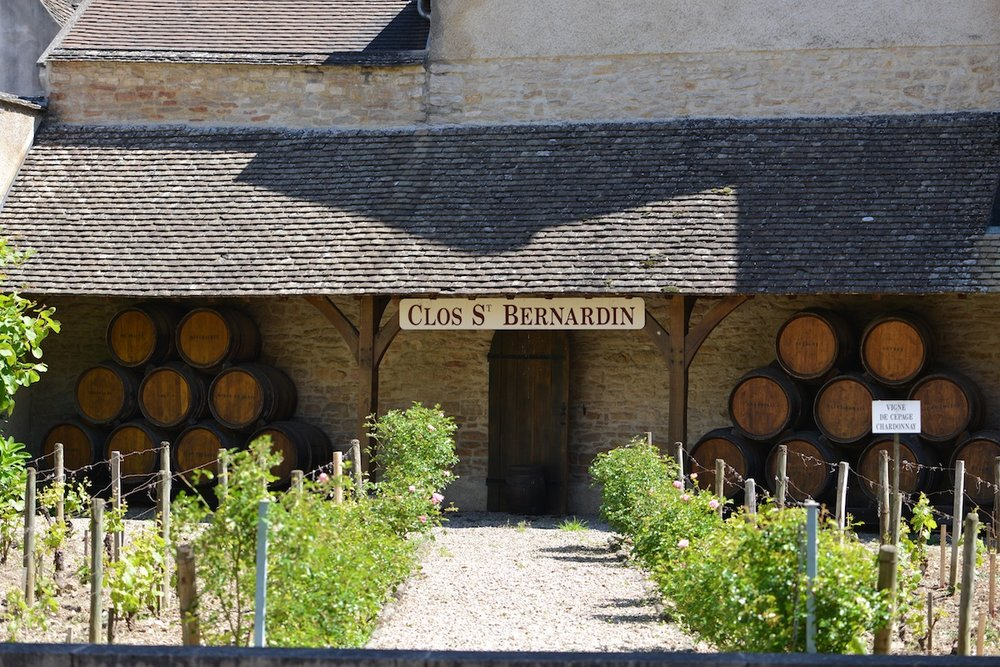 Clos St Bernadin in the centre of Beaune opposite the Hospices