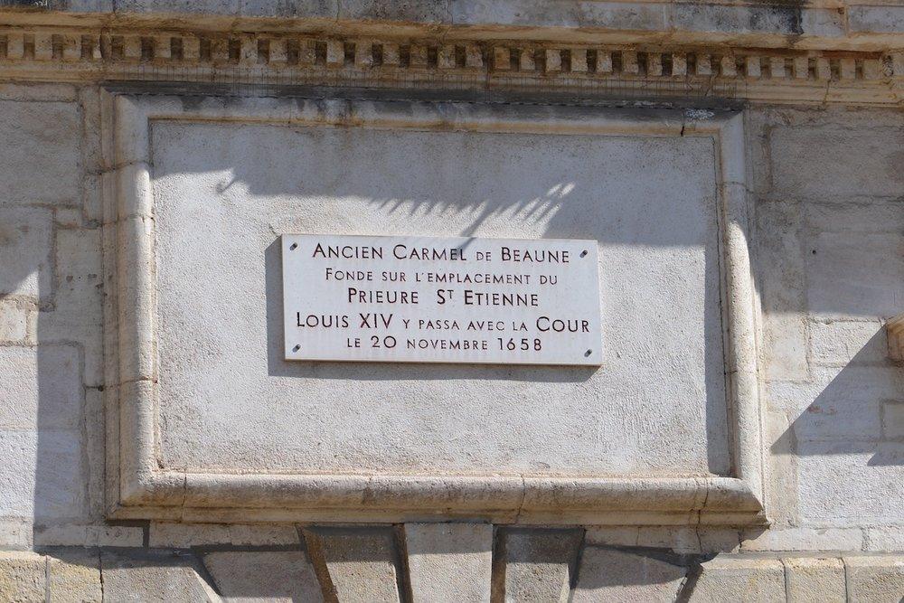 Site of the Carmel de Beaune