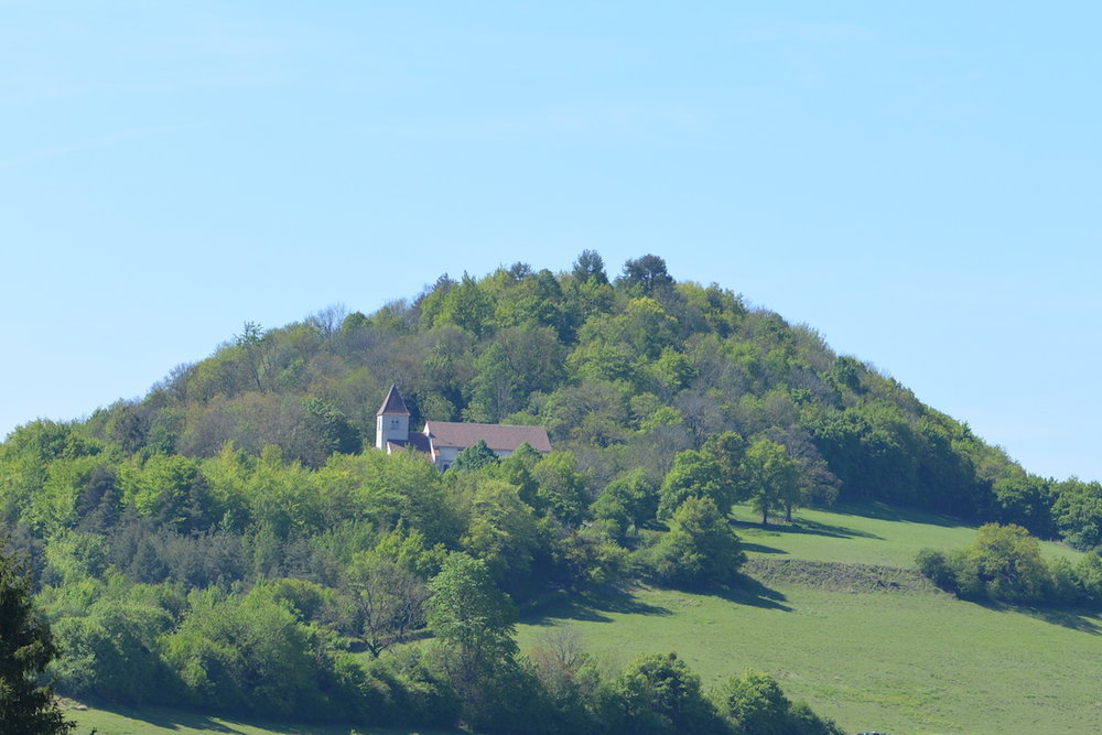 St Saturnin on the hill of Vergy