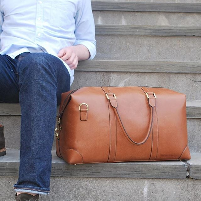 For #cybermonday get a free #cardholder with any bag purchase! #BenchmarkBags #leathergoods #leatherbags #menstyle #mensfashion