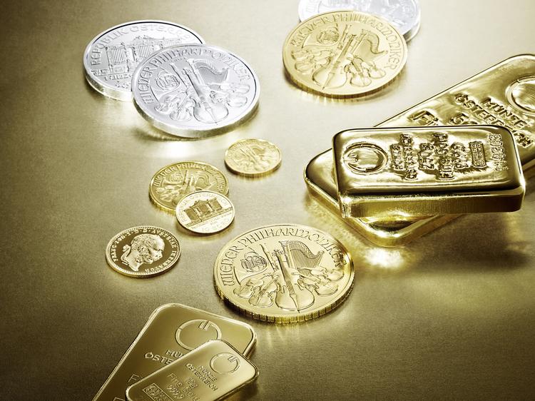 Münze österreich Gold Produktfotografie In Wien Werbefotograf