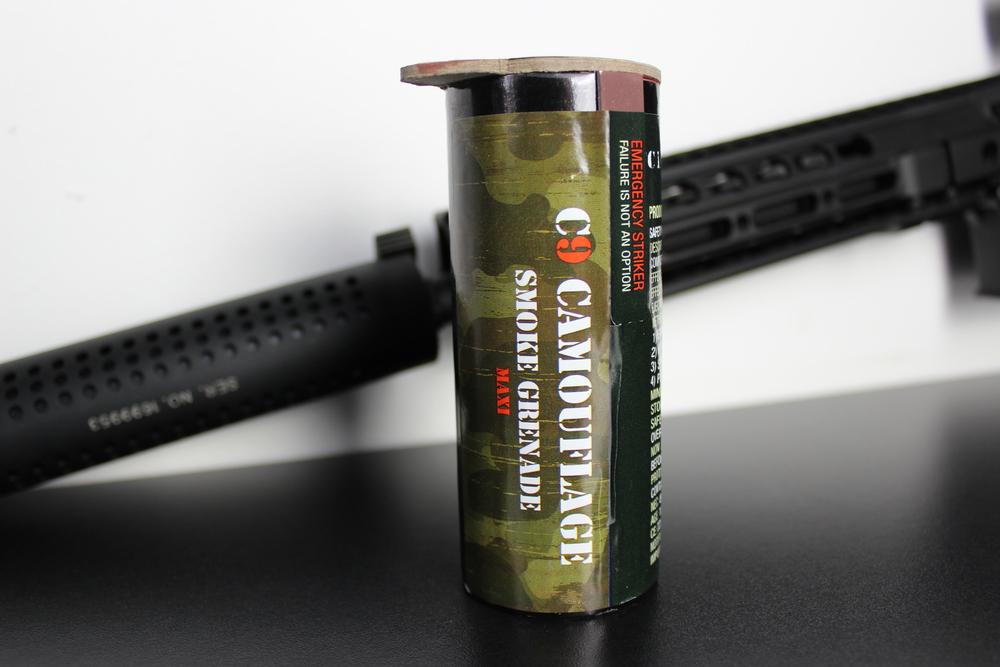 C9 Camouflage Smoke Grenade