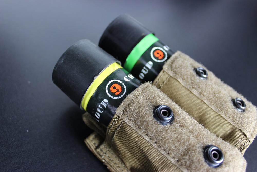 C9 Ring Pull Smoke Grenade