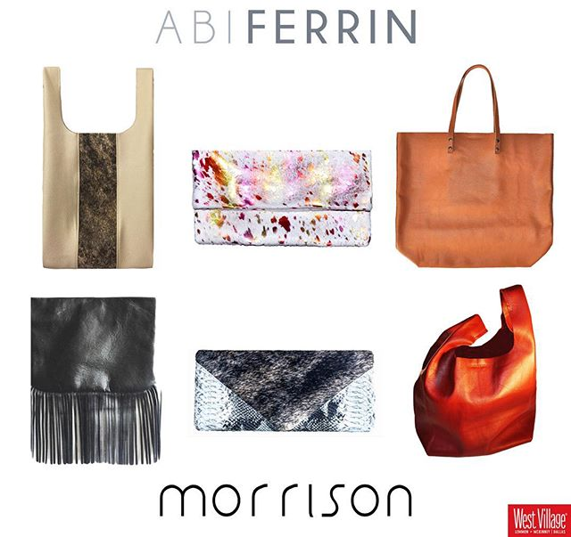 Saturday!!! Trunk show 1-7p @westvillage_dallas @abiferrin 😍 #handbags #Dallas #tote #clutch #leather #custom #accessories #shop #gift #christmas #abiferrin #morrrisonhandbags #houseofmorrison
