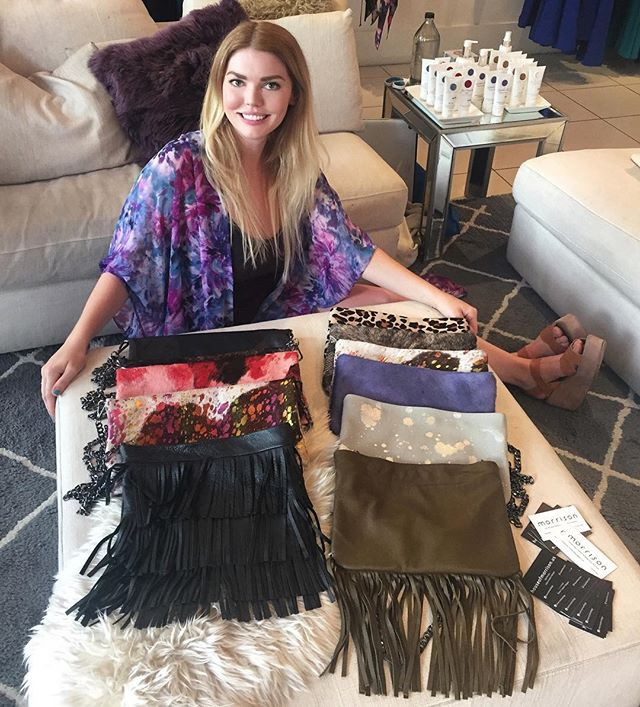 #houseofmorrison trunk show this weekend! @abiferrin @westvillage_dallas #custom #leather #handbags #shopping #fashion #local #designer #dallas #morrison