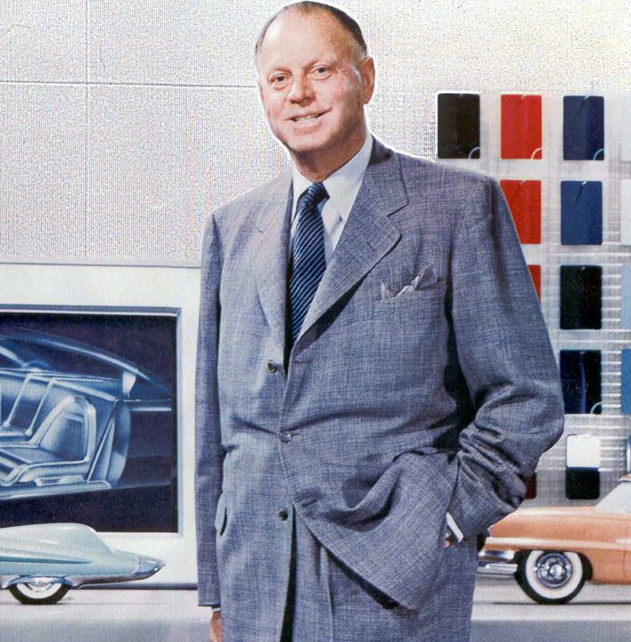 Harley Earl literally invented the design success of the largest company of the twentieth century, General Motors. He led a brand new team of players that became the driving force behind the company's explosive market share rise from the late 1920s into the '60s.