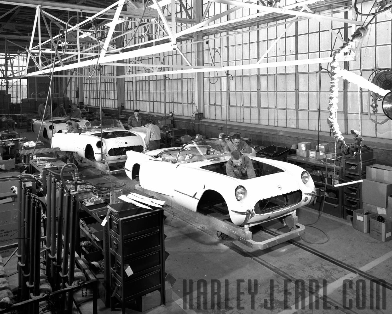Corvette History  HARLEY EARL