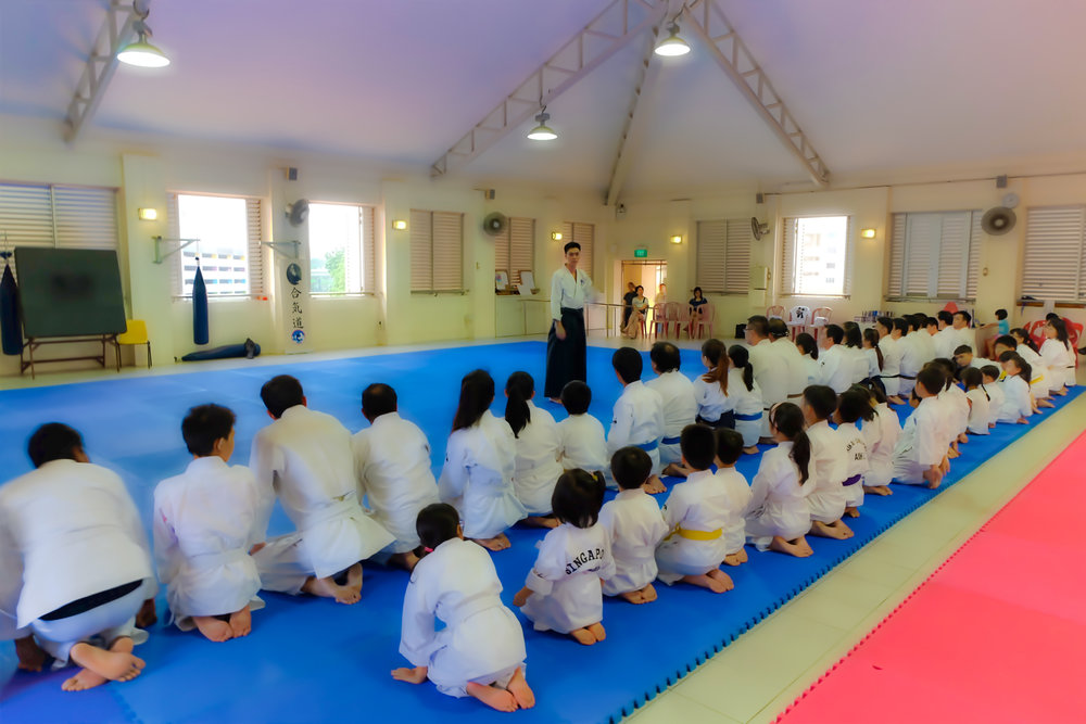Aikido Tai Shin Kai Singapore Classes
