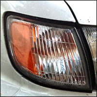 headlight and blinkers