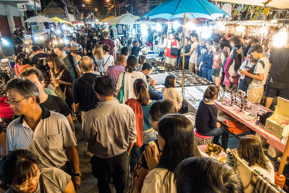 THAILAND - CHIANG MAI SUNDAY NIGHT MARKET