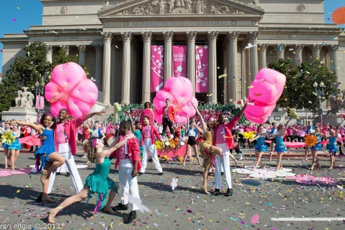 Cherry Blossom Festival Parade/ Image from DC on Heels