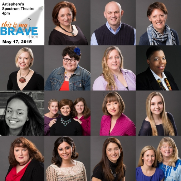 May 2015 cast of This Is My Brave/ Photo by  Dorie Howell Photography