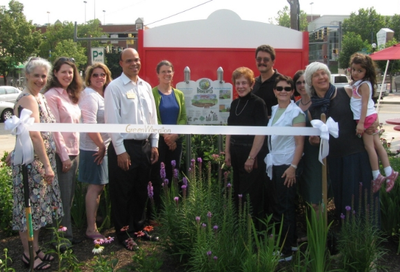Launching a community garden in Wheaton/Source: Green Wheaton