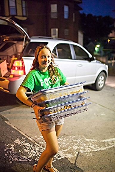 Food Recovery at Lycoming College, Williamsport, Penn./ Photo by Jason Souder