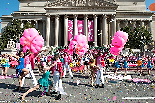 Cherry Blossom Festival Parade/Image from DC on Heels